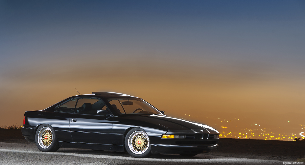 BMW 850i E31 by Dylan Leff