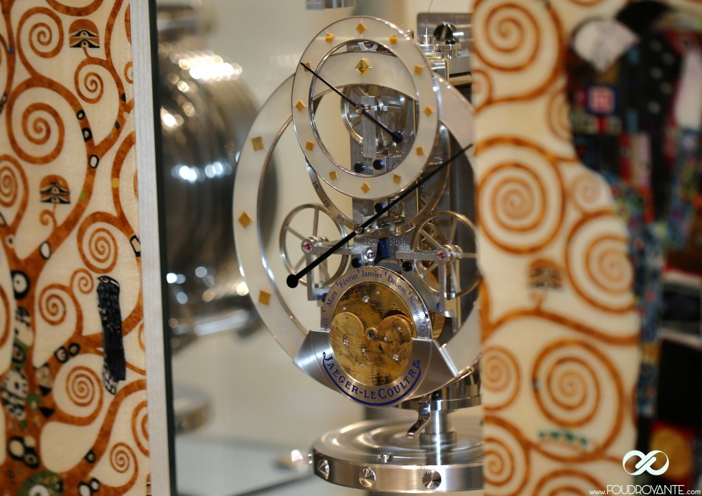 Jeager leCoultre Atmos Marqueterie Gustave Klimt