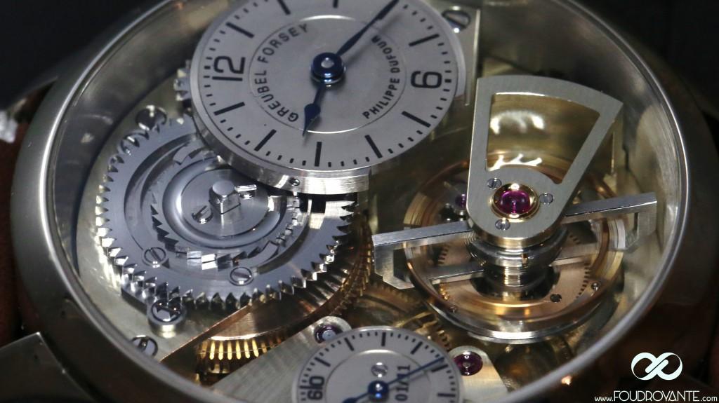 Le Garde-temps, la Naissance d'une Montre, prototype emboîté au SIHH2015