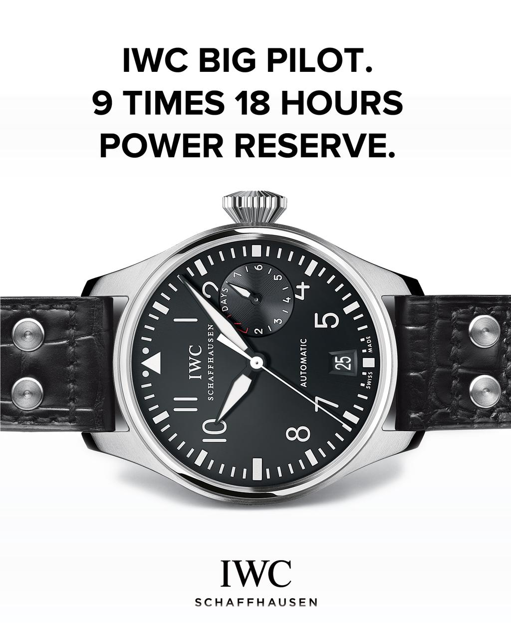 IWC Apple Watch Commercial