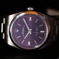 Rolex Oyster Perpetual 114300 Raisin