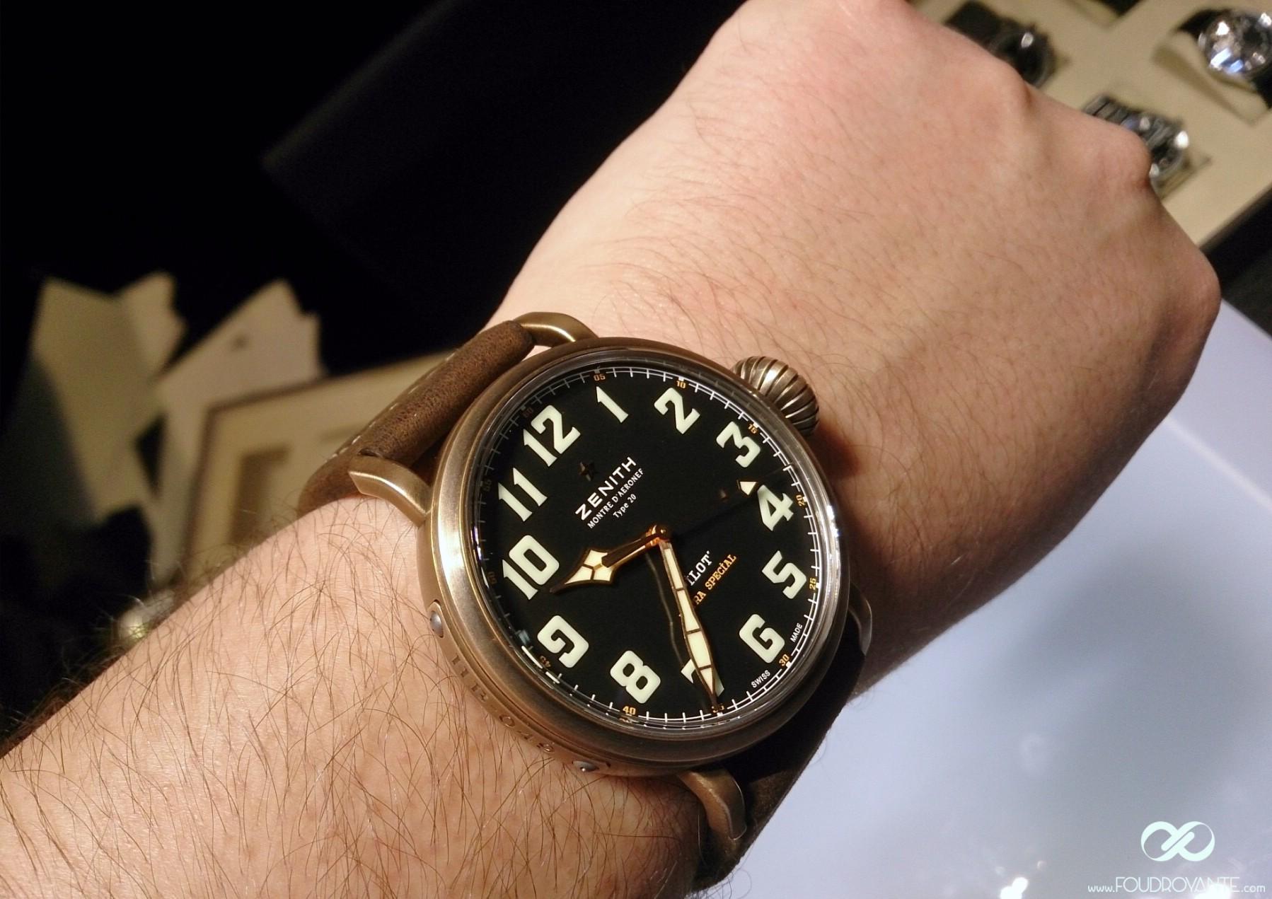 Zenith Pilot Type 20 Extra Special Bronze (2)