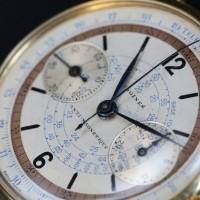 Longines chronographe Valjoux 15''' 1935 @ Phillips Auction – Bacs – Russo