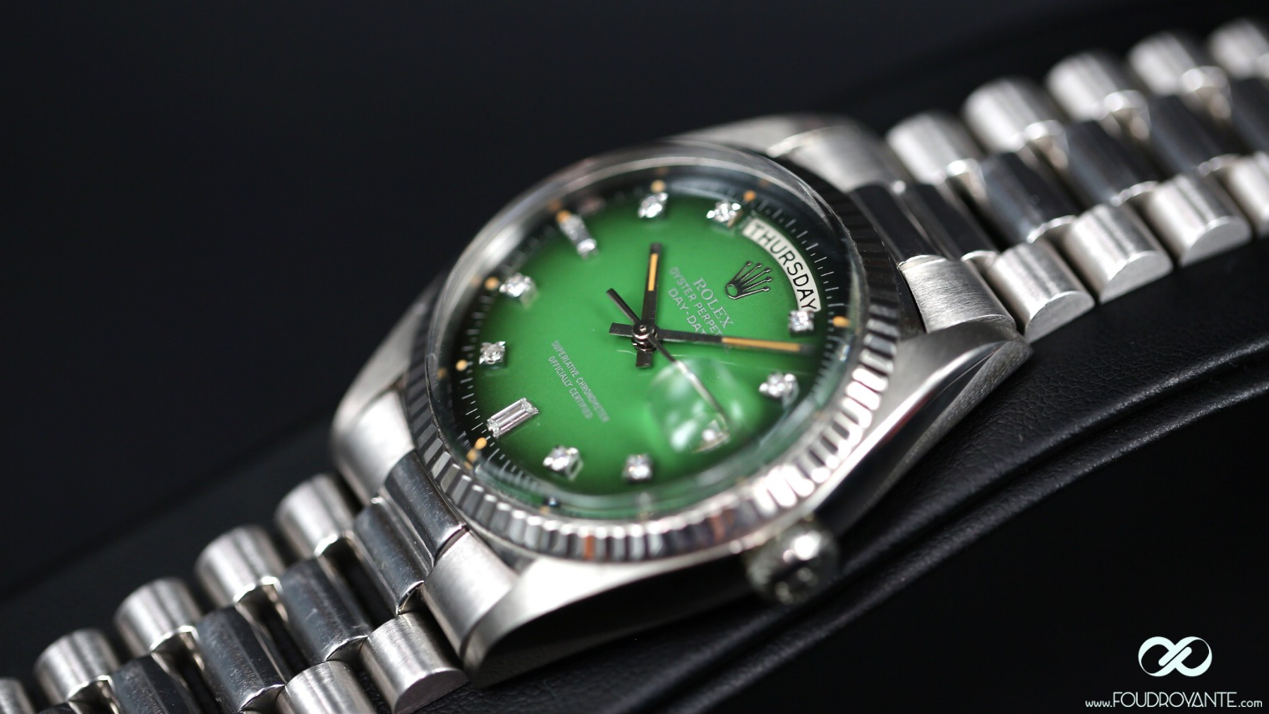 Rolex 1803 Augusta Green Smoked dial (5)
