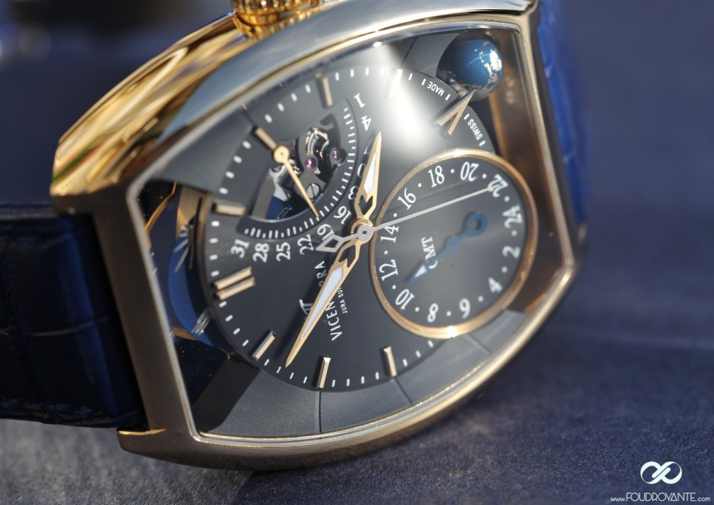 Vicenterra GMT3 Tome 3 yellow gold