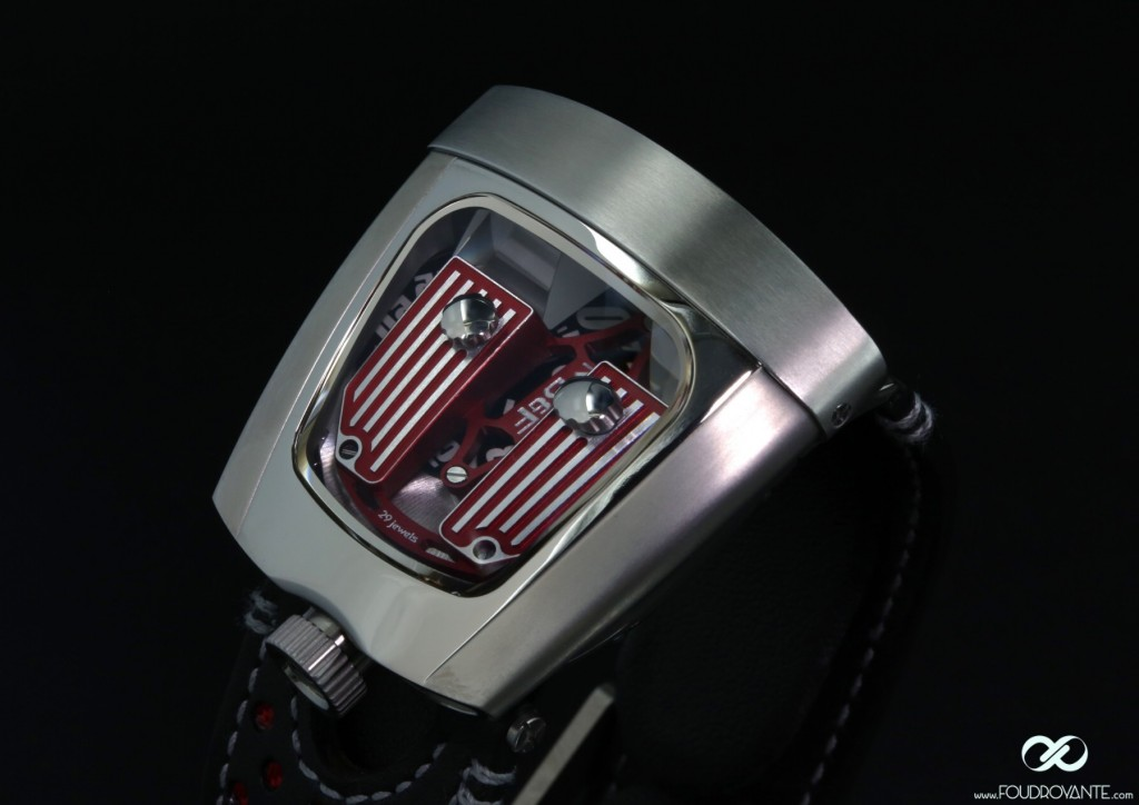 MB&F HMX red Ferrari