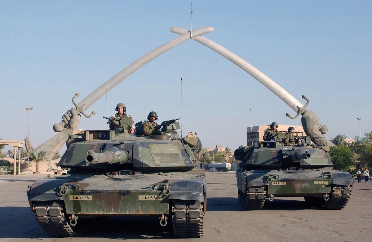 M1 Abrams Badgad 2003