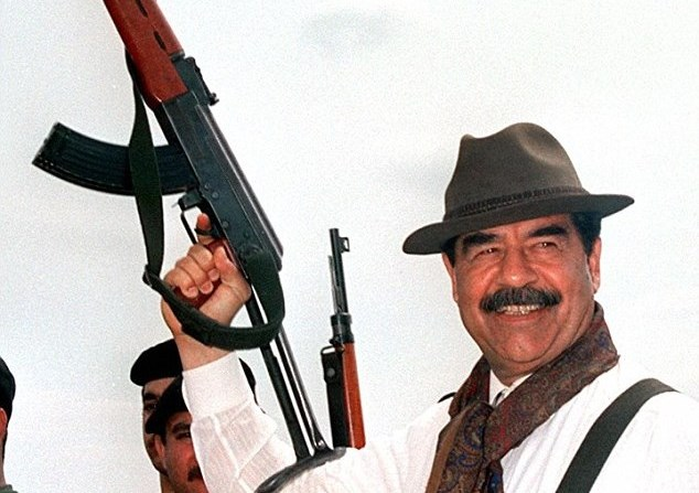 Saddam Street Cred
