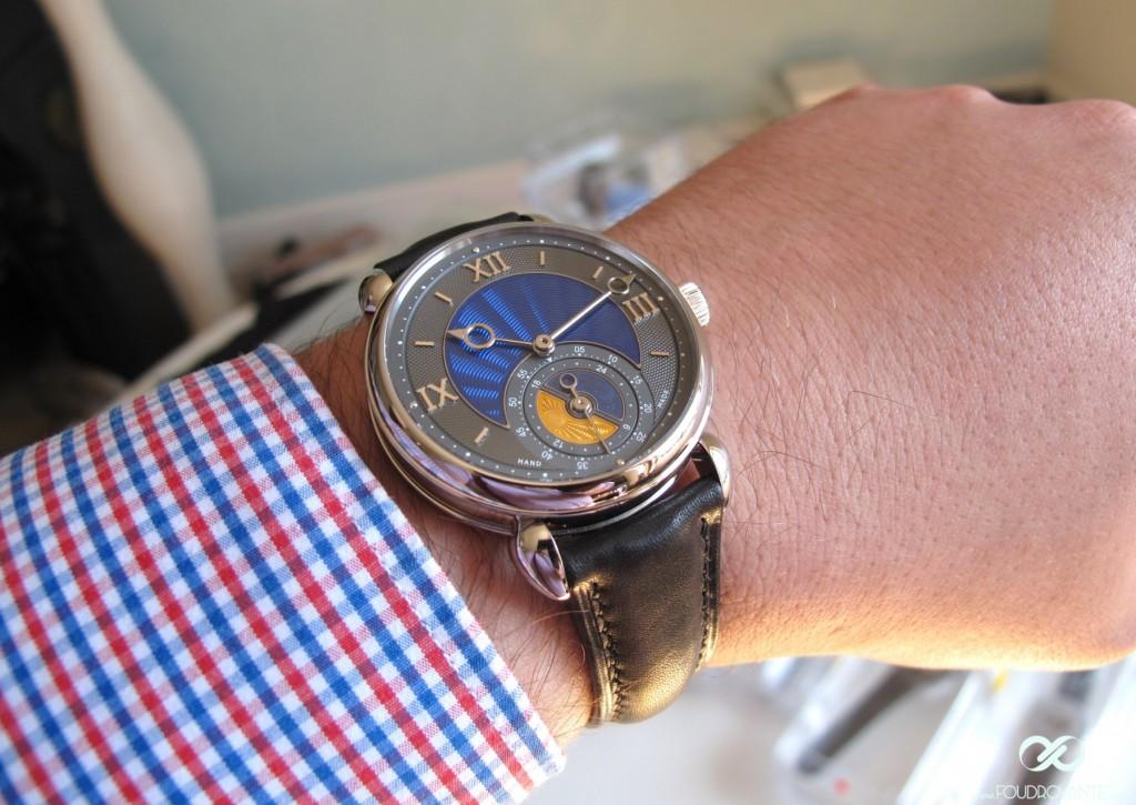 Voutilainen GMT-6 @ Only Watch 2015 & Phillips Auction - Bacs - Russo