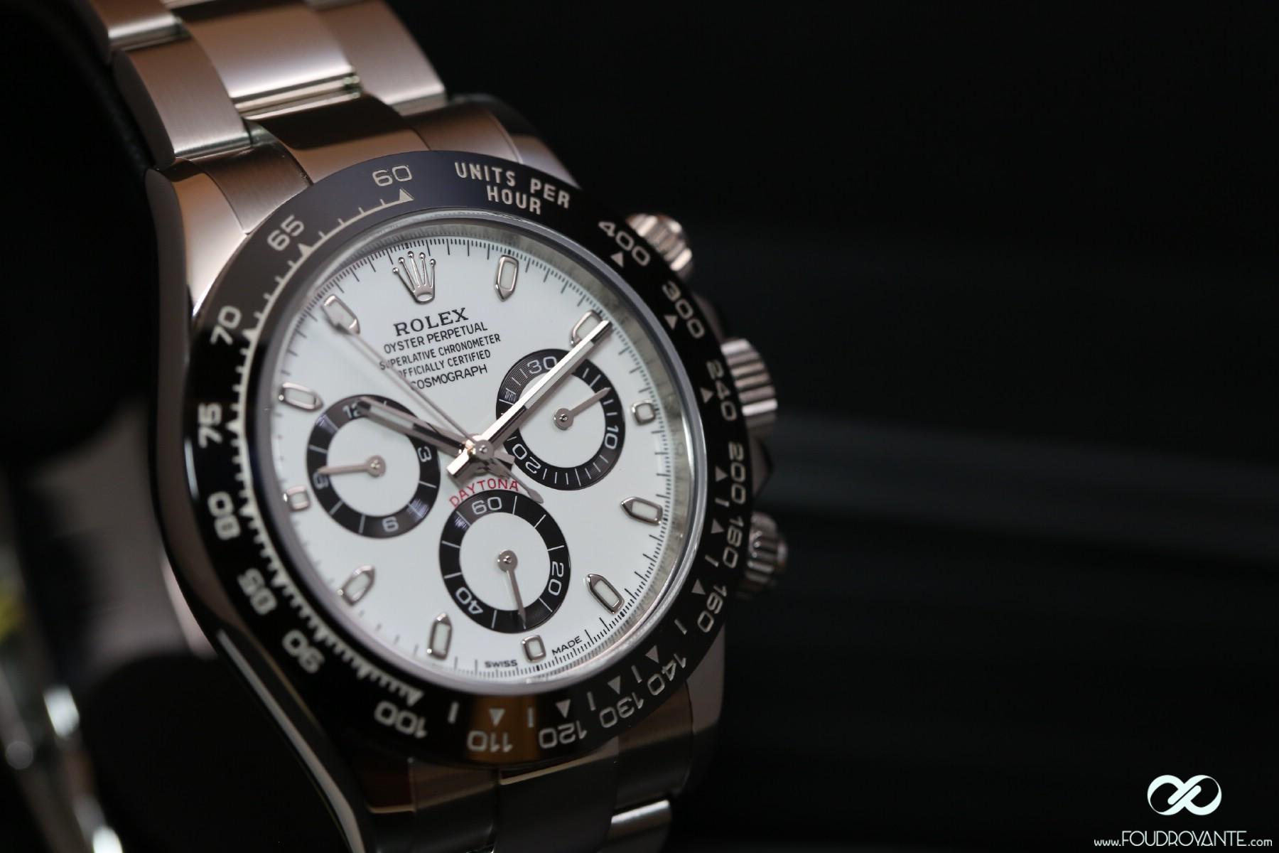 Rolex 116500 LN Daytona Cadran Blanc (5)
