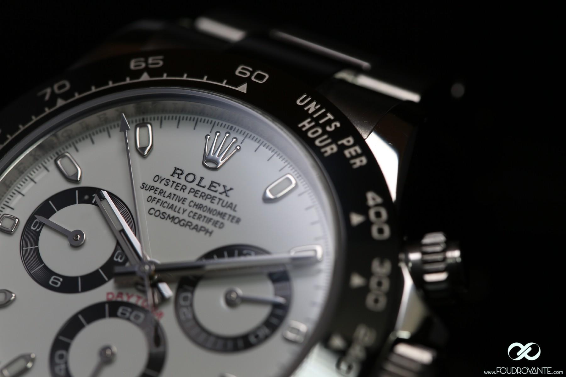 Rolex 116500 LN Daytona Cadran Blanc (8)