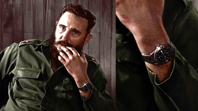 Fidel-Castro-Rolex-GMT-Master-1675-black